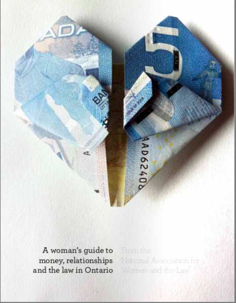 A Woman's Guide to Money, Relationships and the Law in Canada